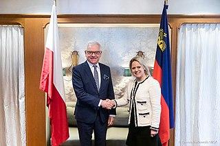 Katrin Eggenberger Politician from Liechtenstein