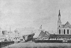 Jacob Holm - Jacob Holm's shipyard