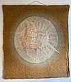 Jadwiga Budlewska - Słońce dobre i złe (tkanina dekoracyjna, 162 x 175 cm, 1986, własność prywatna, Niemcy).jpg