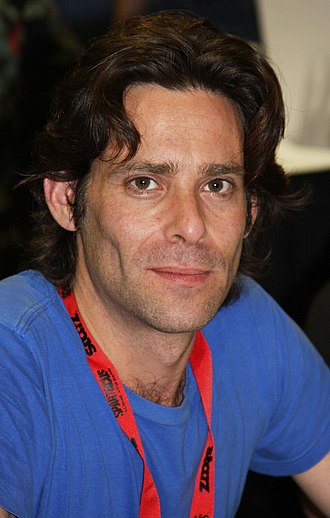 James Callis - Callis at the 2009 San Diego Comic-Con International