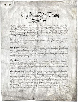 Treaty 9 - The James Bay Treaty (Treaty No. 9).