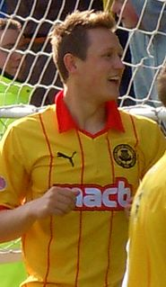 James Craigen (footballer) English footballer