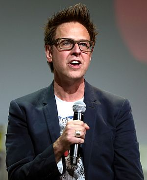 Guardians of the Galaxy Vol. 2 - Gunn promoting Guardians of the Galaxy Vol. 2 at the 2016 San Diego Comic-Con International.