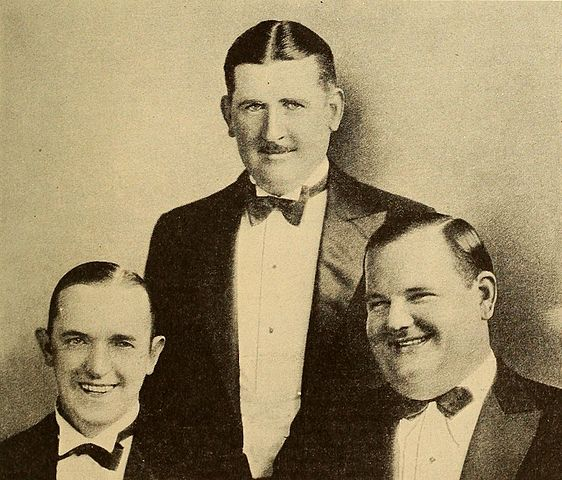 James Parrott, Stan Laurel and Oliver Hardy.jpg