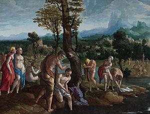 The Baptism of Christ in the Jordan