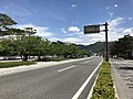 Japan National Route 191 in front of Hagi City Office.jpg