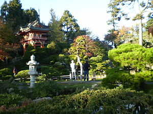 The japanese tea garden in the Golden Gate Par...