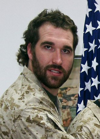 Jared Allen - Allen on a USO tour in 2009