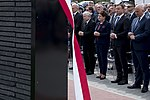 Jarosław Kaczyński, Beata Szydło, Andrzej Duda Gazoport im. Lecha Kaczyńskiego.jpg
