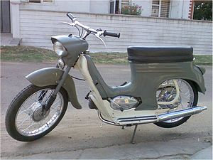 Ideal Jawa - Jawa Jet 50 cc 'A' (Type 555 Pionyr)