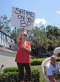 Jax Square BP Oil Disaster Protest 31 July Shame On You BP.JPG