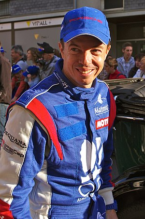 Jean-Philippe Belloc - Belloc at the 2011 24 Hours of Le Mans driver parade
