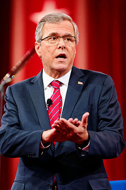 Jeb Bush at CPAC 2015, National Harbor, MD 08