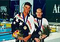 Jeff Hardy gold Kingsley Bugarin silver 100 fly.jpg