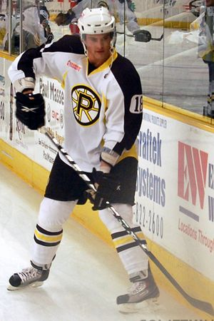 Jeff LoVecchio - LoVecchio with the Providence Bruins in 2010