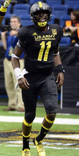 Jeremy Johnson (American football) - Johnson at the U.S. Army All-American Bowl, 2013