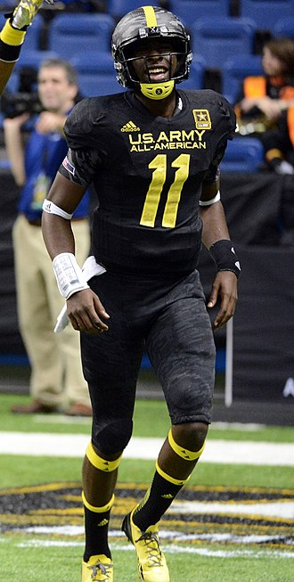Jeremy Johnson (American football) - Johnson at the U.S. Army All-American Bowl, 2013