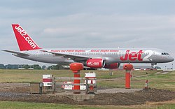 Jet2.com (G-LSAA) at Leeds Bradford International Airport (24th July 2010) 006.jpg
