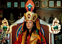 Jetsunma akhon lhamo enthronement 1998.jpg