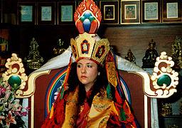 Jetsunma Ahkön Norbu Lhamo   256px-Jetsunma_akhon_lhamo_enthronement_1998