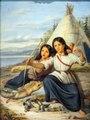 Jeunes Indiennes a Lorette by Theophile Hamel 1865.tif