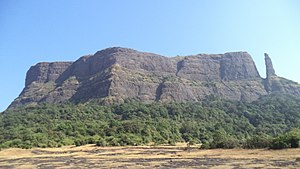Jivdhan - Jivdhan Fort from Naneghat