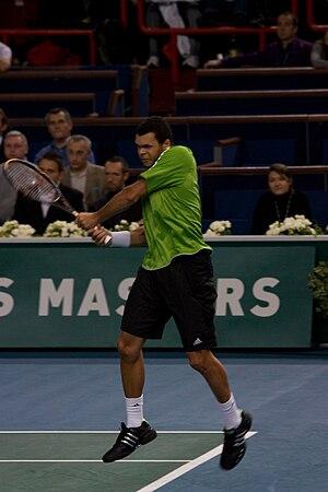 2008 BNP Paribas Masters - Singles champion Jo-Wilfried Tsonga