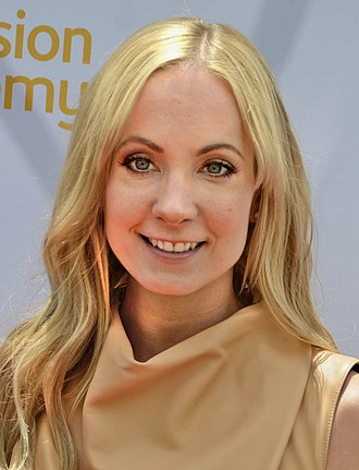 """Joanne Froggatt - Froggatt at """"An Afternoon of Tea, Scones and Chatting with Downton Abbey"""" on 3 May 2014"""