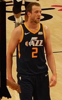 Joe Ingles Australian basketball player