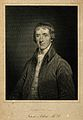 John Aikin. Line engraving by Englehart, 1823. Wellcome V0000057.jpg