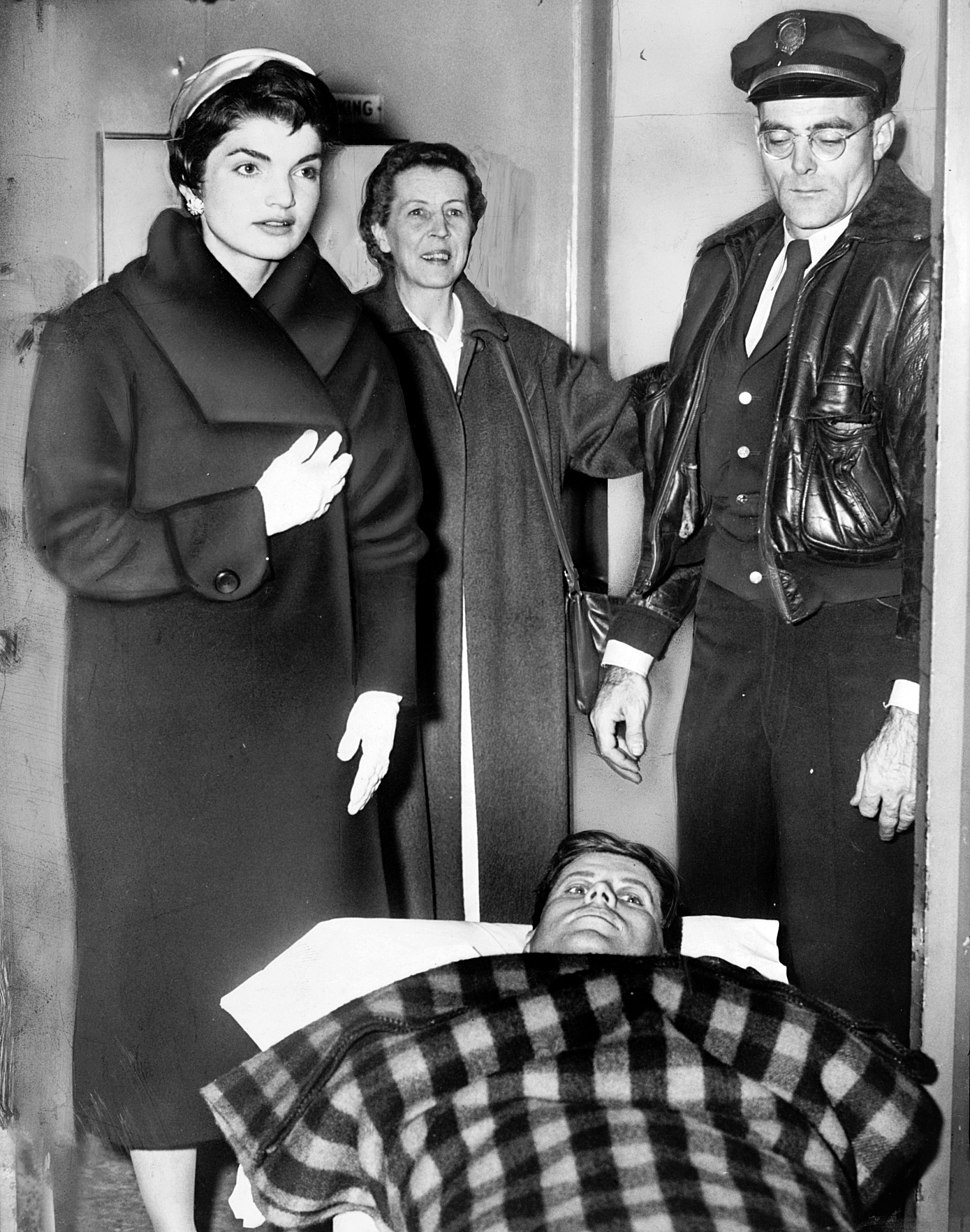 John F. Kennedy after spinal surgery cph.3c33052