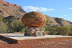 John Flynn's Grave, Alice Springs, Australia.JPG