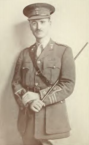 John Henry Patterson (author) - Photo from the book With the Judaeans in the Palestine Campaign.