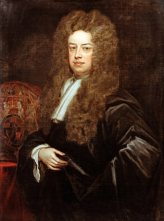 John Somers, 1st Baron Somers - John Somers was appointed Lord Keeper of the Great Seal of the Realm on 23 March 1693