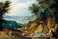 Joos de Momper (II) - Extensive Mountainous Landscape - WGA16125.jpg