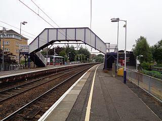 Jordanhill railway station Railway station in Glasgow, Scotland