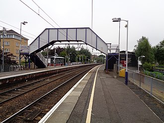 Jordanhill railway station - Image: Jordanhill station 2016 08 25