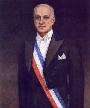 Jorge Alessandri - Jorge Alessandri official portrait