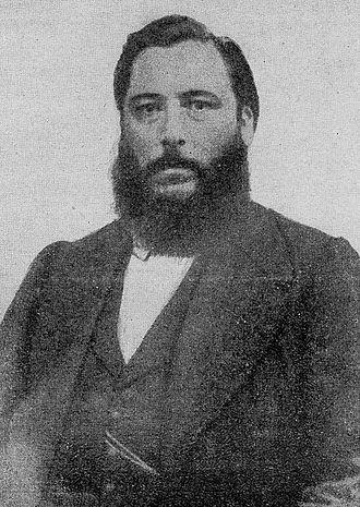 José Hernández (writer) - Hernández, c. 1875.