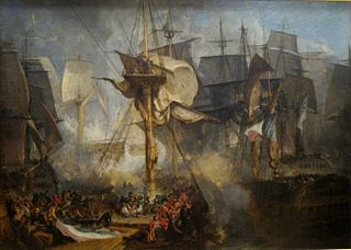 Battle of Trafalgar 1805 battle of the Napoleonic Wars