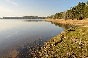 Juglas Lake - Jugla Lake near Berģi