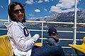 Jules and Gabriel on the ferry from Makarska to Sumartin, Croatia (PPL1-Corrected) julesvernex2.jpg