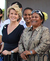 Julie Bishop and Charmaine Scotty.jpg