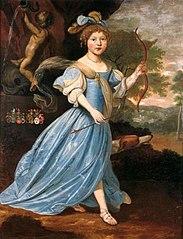 Portrait of Susanna Maria van Camstra (1670-1678)