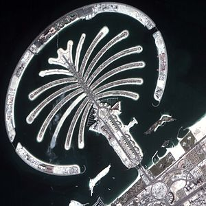 Mohammed bin Rashid Space Centre - Image: Jumairah palm