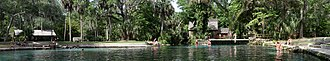Juniper Springs - Image: Juniper Springs, FL panorama