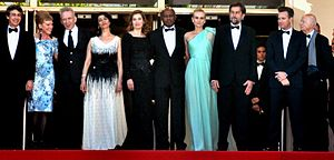 Raoul Peck - Cannes Film Festival 2012 Jury (Raoul Peck is sixth from left)