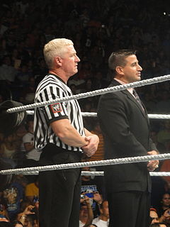 Scott Armstrong (wrestler) American professional wrestler and referee