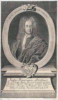Justus Henning Böhmer German jurist