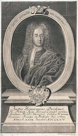 Justus Henning Böhmer - Justus Henning Boehmer